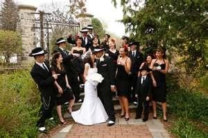 Gangster wedding photo