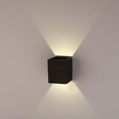 3W светодиодный квадратный настенный светильник зала крыльцо дорожка спальня гостиная домашний прибор свет