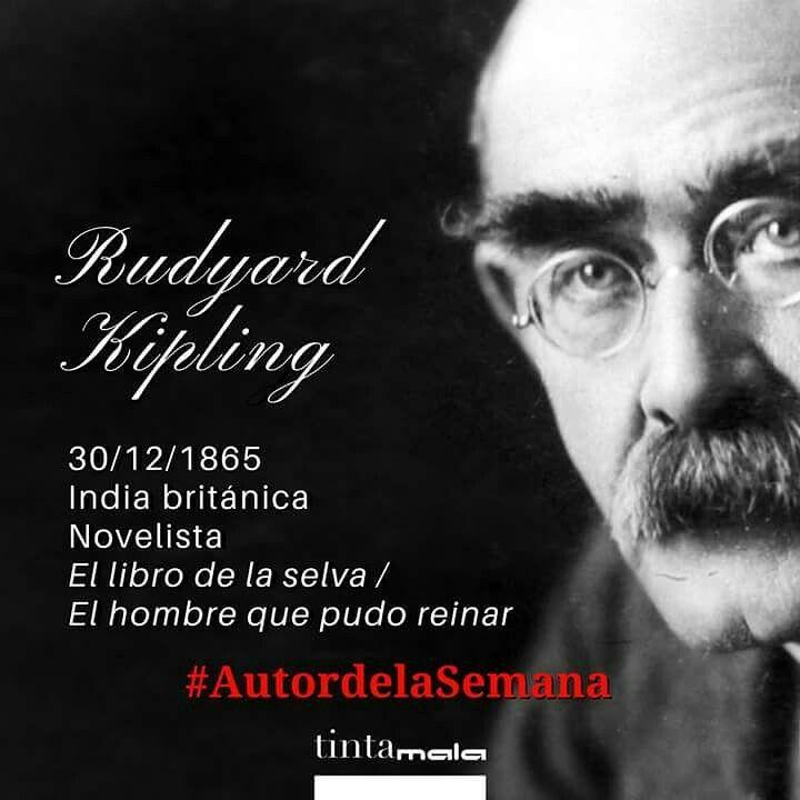 Efectivamente, era Rudyard Kipling. Uno de los clásicos de la literatura mundial. Pasad buena noche y feliz Navidad. #AutorDeLaSemana #Literatura #Letras #Leer #Escribir #NosGustaLaLiteratura #NosGustanLasLetras #NosGustaLeer #NosGustaEscribir