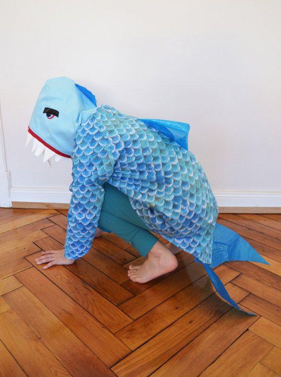 barracuda children costume predator shark barracuda halloween kids pinterest. Black Bedroom Furniture Sets. Home Design Ideas