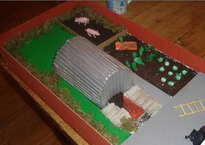 air raid shelters model - Google Search