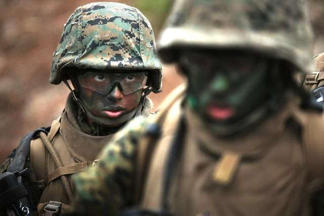 Without doubt, Marine boot camp is more challenging -- both physically and mentally -- than the basic training programs of any of the other military services. Not only are the physical requirements much higher, but recruits are required to learn and memorize a startling amount of information.
