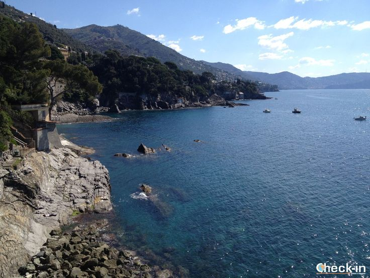 Vista sul mare dai Parchi di Genova Nervi