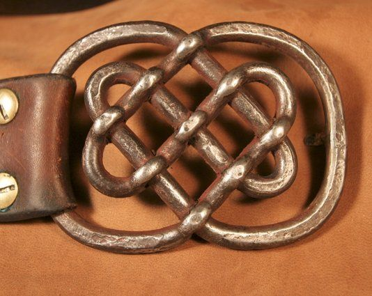 Custom Made Celtic Knot Belt Buckle