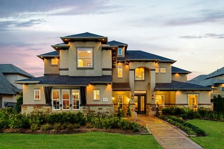 Model homes in missouri city texas