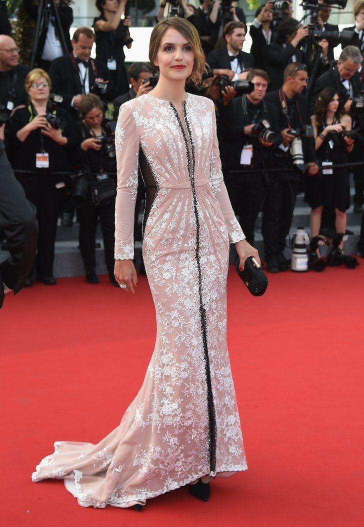 Pin for Later: Personnalités Françaises et Stars Hollywoodiennes Ont Envahi Cannes Jour 1 Laurence Arné