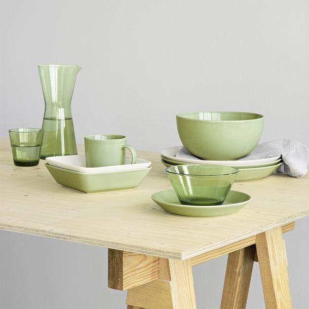Teema Salad Plate Celadon | Iittala