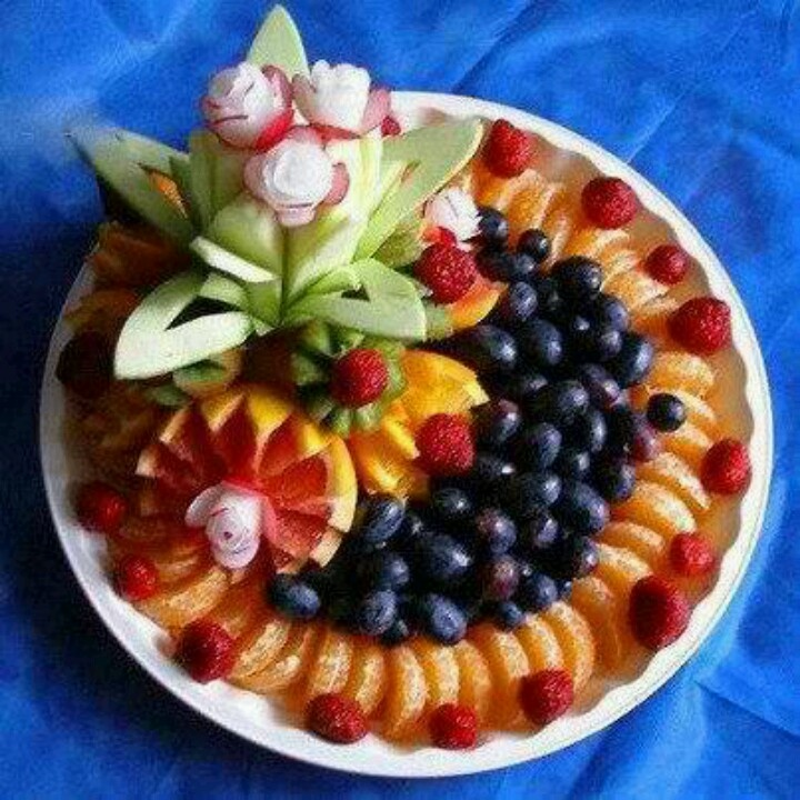 Fruit Pizza Healthy Crust: 24 Best Images About Fruit Platters:)...yummy On Pinterest