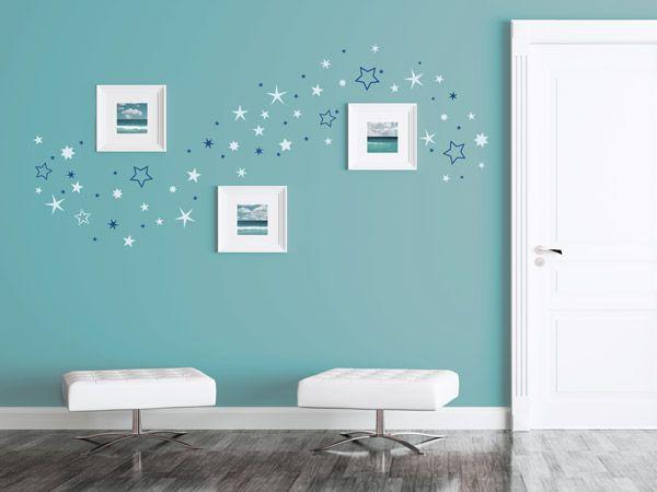 Wandtattoos Mit Bilderrahmen Kombiniert Neue Wandideen Wandtattoos Haus Deko Kinderzimmer Wand