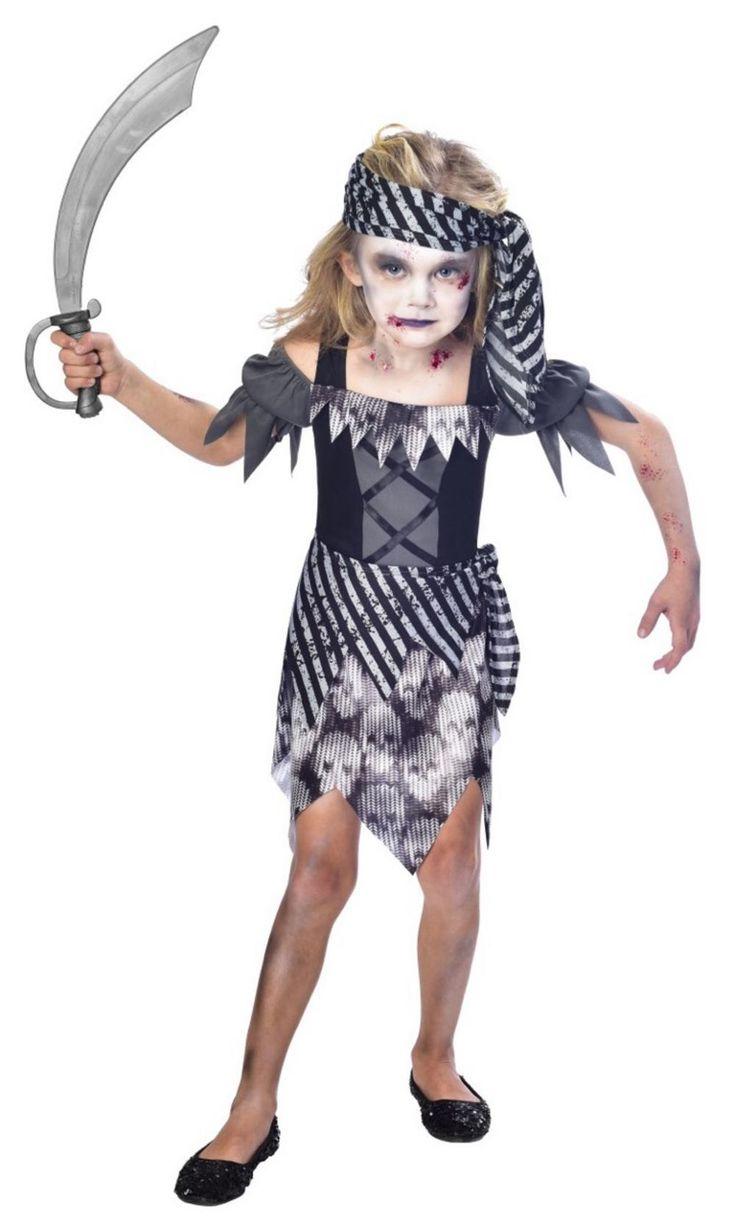 Zombie Pirate Girls Costume | All Halloween | Mega Fancy Dress