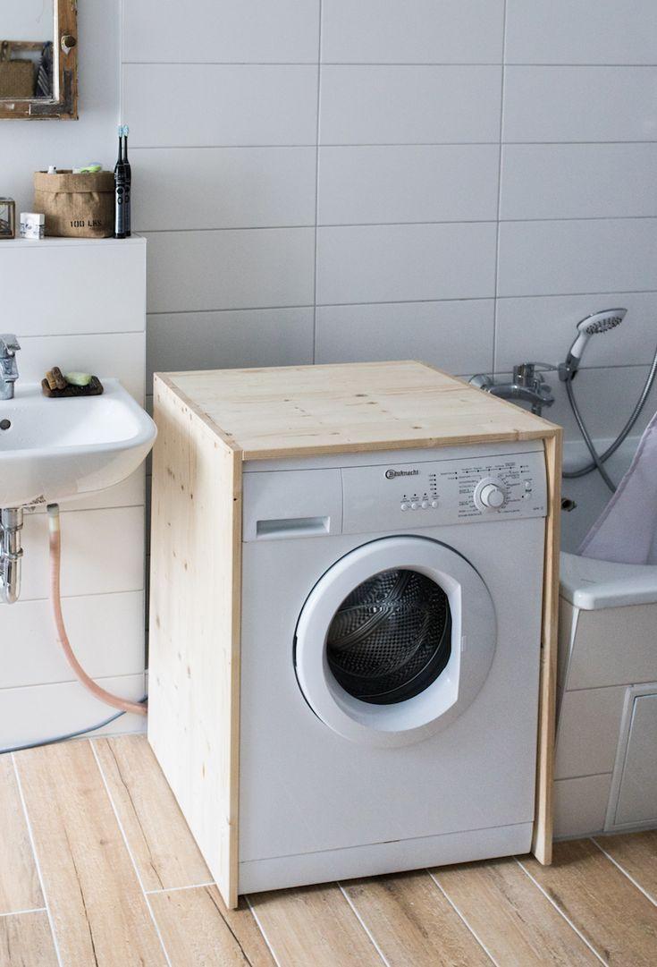 Diy Waschmaschinen Verkleidung In 2020 Waschmaschine
