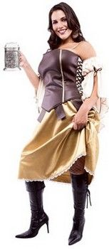 Tavern Wench Plus Size Costume (more details at Adults-Halloween-Costume.com #oktoberfest #halloween #costumes