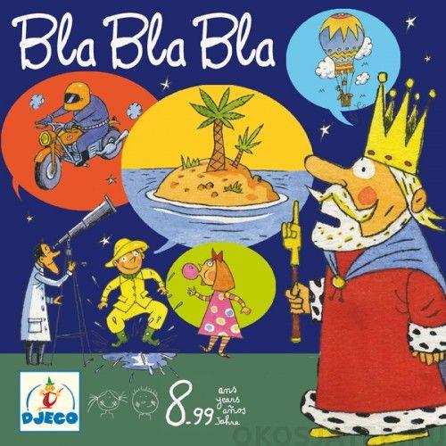 Bla Bla Bla társasjáték gyerekeknek Djeco 8462 (552)