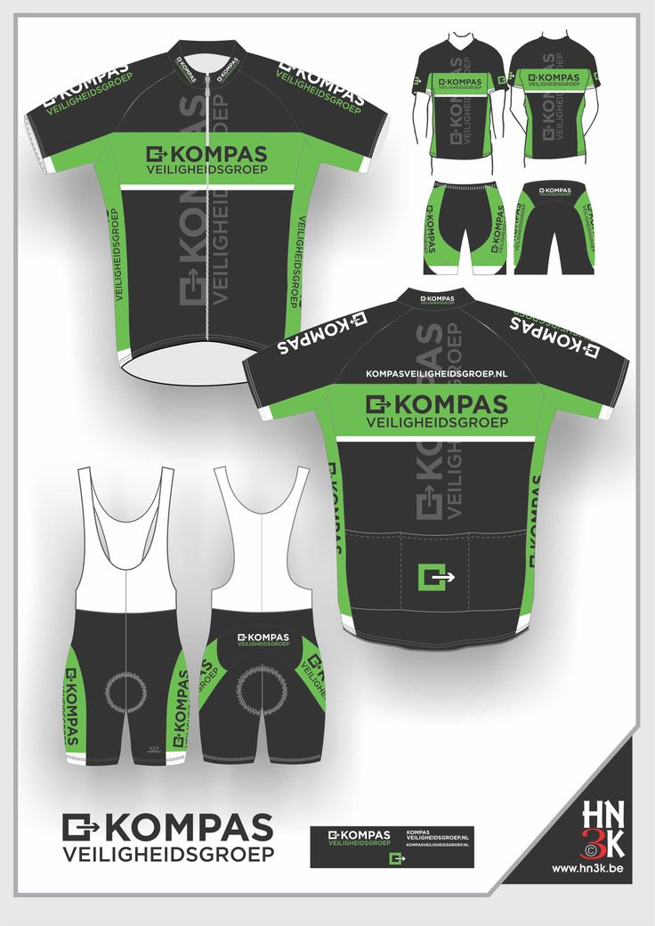 kompas  cycling shirt  cycling shin  ort   bike jersey  fietstrui fietsbroek wieleruitrusting  maillot  @hn3k.be