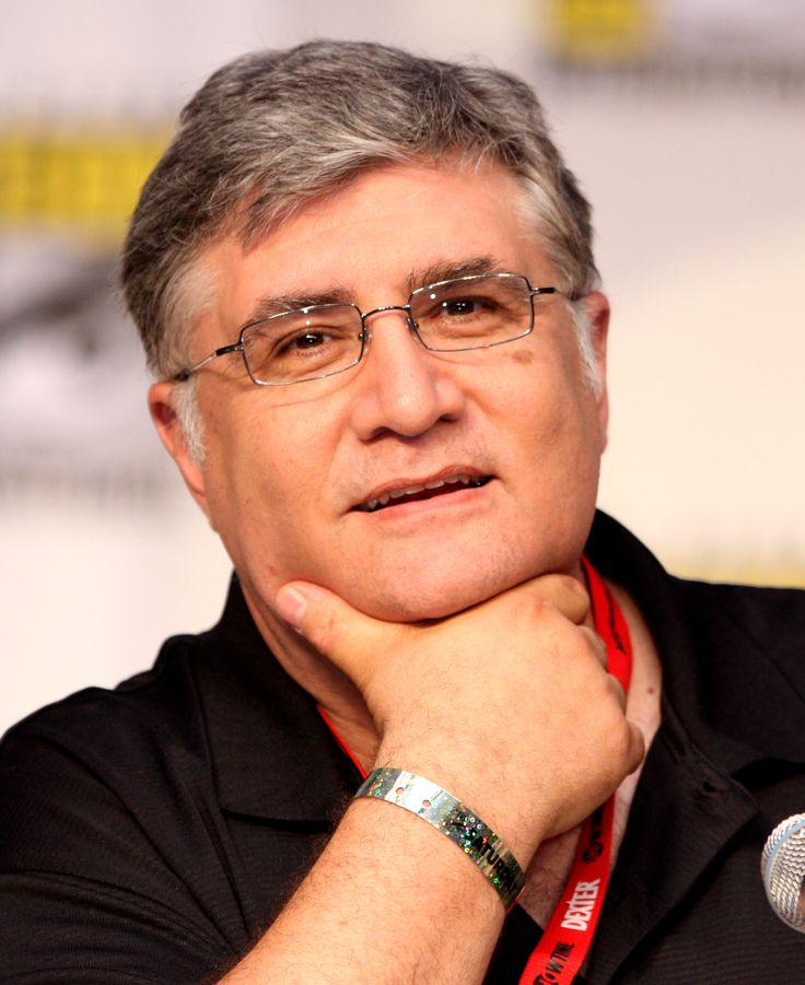 "Maurice LaMarche--- wonderful voice over actor, my favorite is Principal Pixiefrog from ""My Gym Partner's a Monkey"""