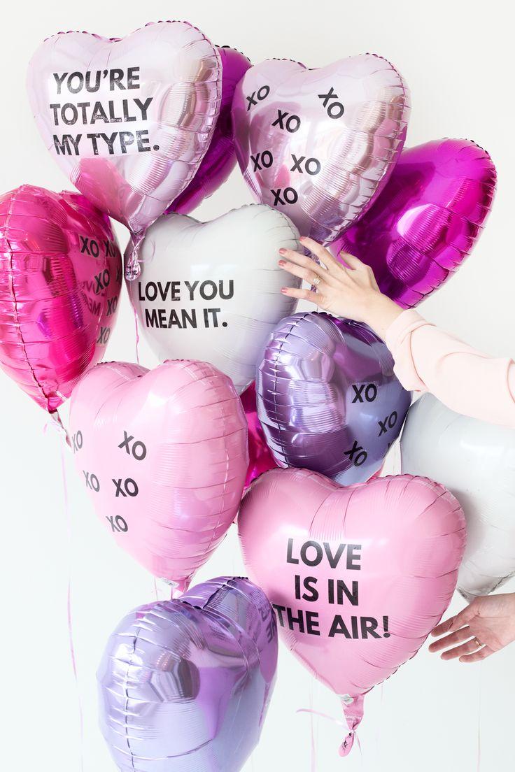 DIY Valentineu0027s Day Balloon Tattoos