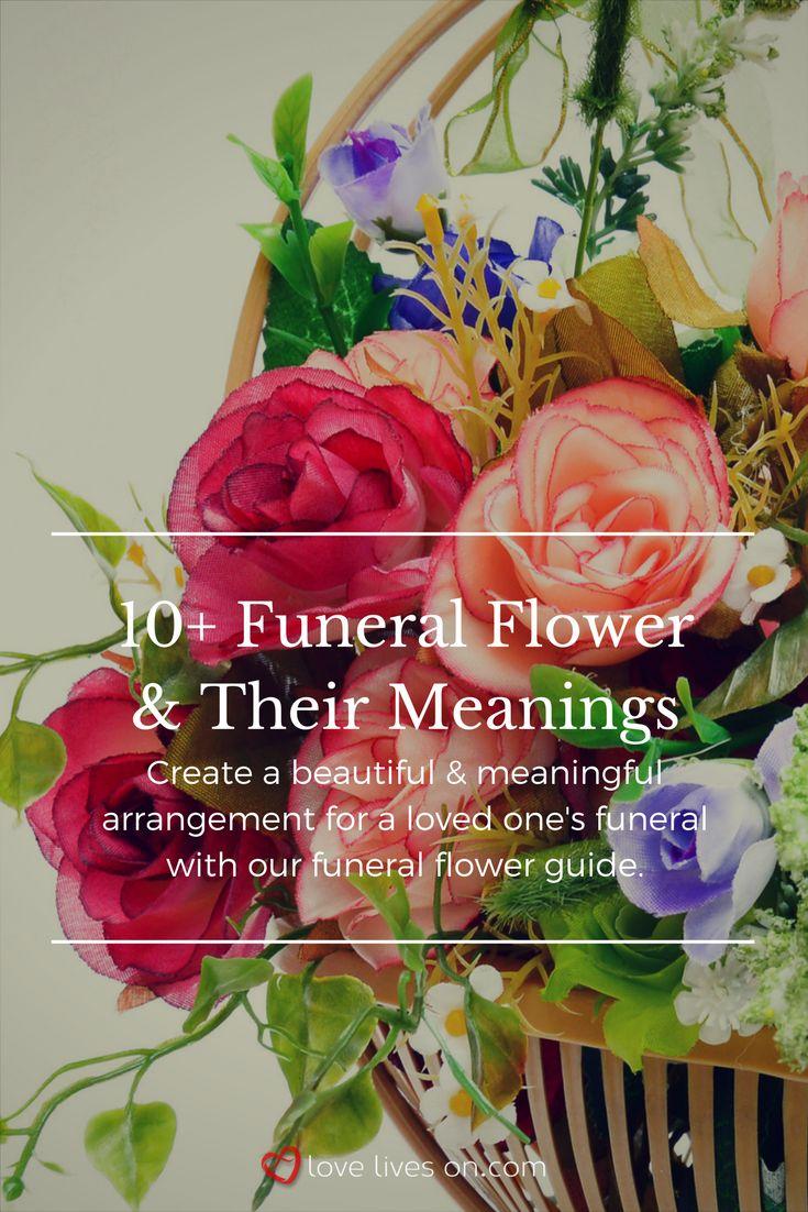 101 best funeral flower meanings images on pinterest 10 best funeral flowers izmirmasajfo