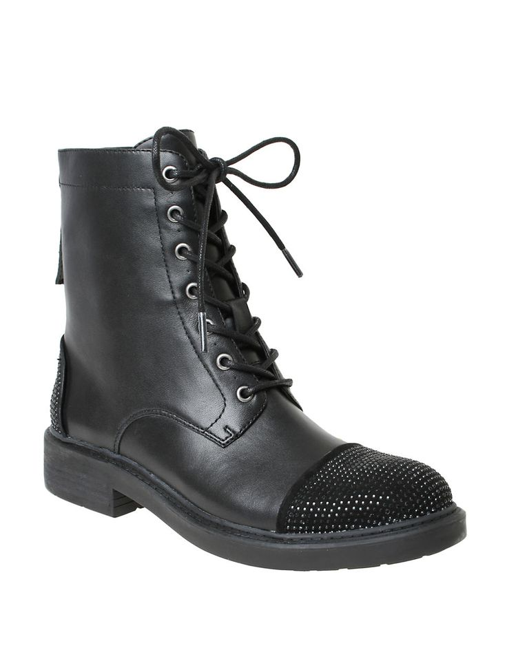 William Rast - Wendy Military Lace-Up Boots