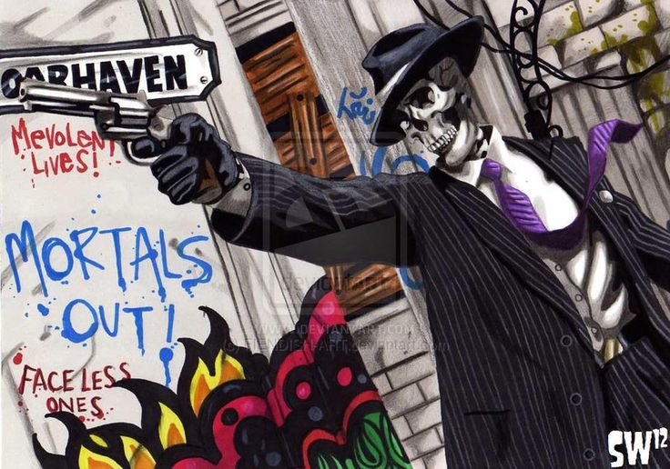 Skulduggery Pleasant II by FIENDISH-ART on deviantART