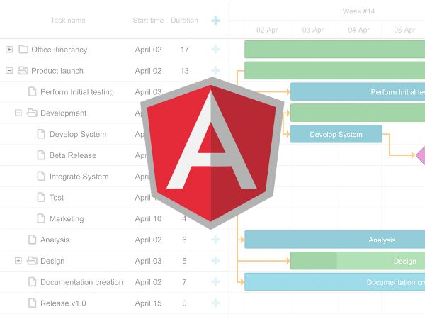 Les 22 meilleures images du tableau interesting stuff in dhtmlx learn how to create an angular gantt chart component with dhtmlxgantt top leading javascript diagramme ccuart Image collections