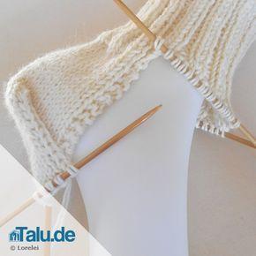 Socken stricken – die Ferse – einfache DIY-Anleitung