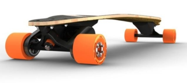 Electric Skateboard, Ummm...  If I could stay on the original then I might try this..