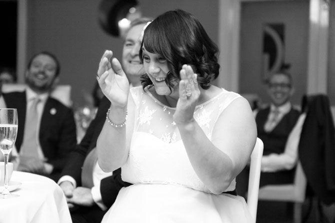 Wedding speeches at the Gatsby Berkhamsted Hertfordshire