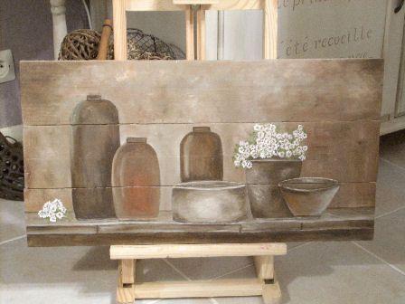 1000 id es sur le th me peinture sur bois sur pinterest for Peindre sur du bois