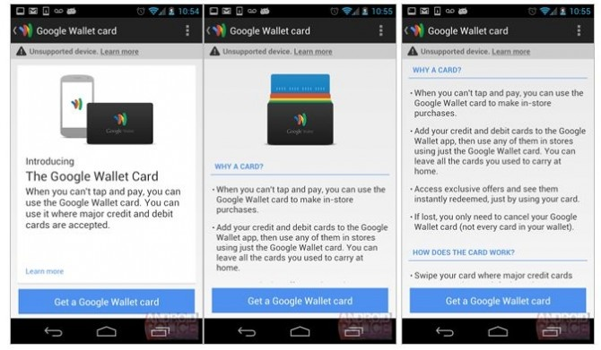 The company is reportedly working on a physical Google Wallet card that functions as an all-in-one card, letting you pay with whatever credit cards are tied to your Google Wallet account.