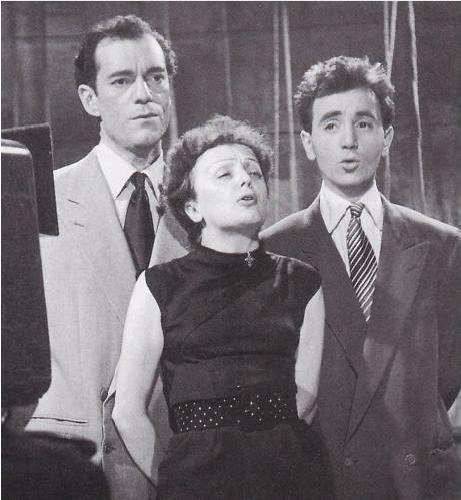 Charles Aznavour and Édith Piaf 1950