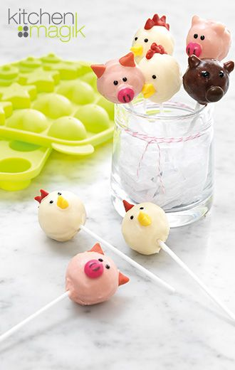 Super cute cake pop mould