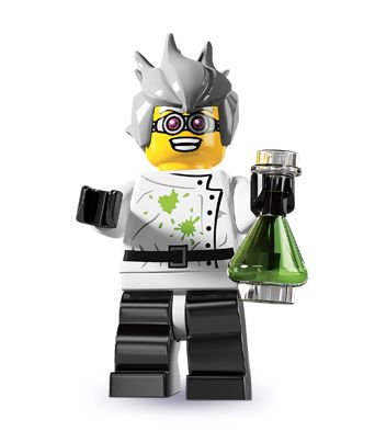 "Crazy Scientist -- ""Ah hah hah hah! They called me mad at the university...and they were right!"" 