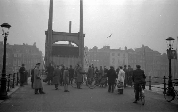 Fights between Jews, non-Jewish sympathisers and National Socialists on and around Rembrandtplein resulted in closure of the Jewish quarter in Amsterdam on 12 February 1941. The area was cut off by raising the Magere Brug (Skinny Bridge) over the Amstel river. This was a temporary measure. Amsterdam never had an actual Jewish ghetto until the German Government acknowledged (May 2013) that The Jewish quarters were in fact a Ghetto.