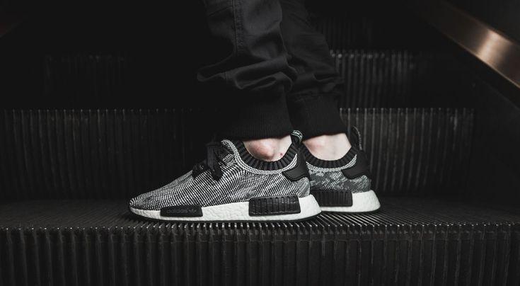 """NMD R1 Boost Runner Primeknit """"Black n White"""" - Sneaker"""