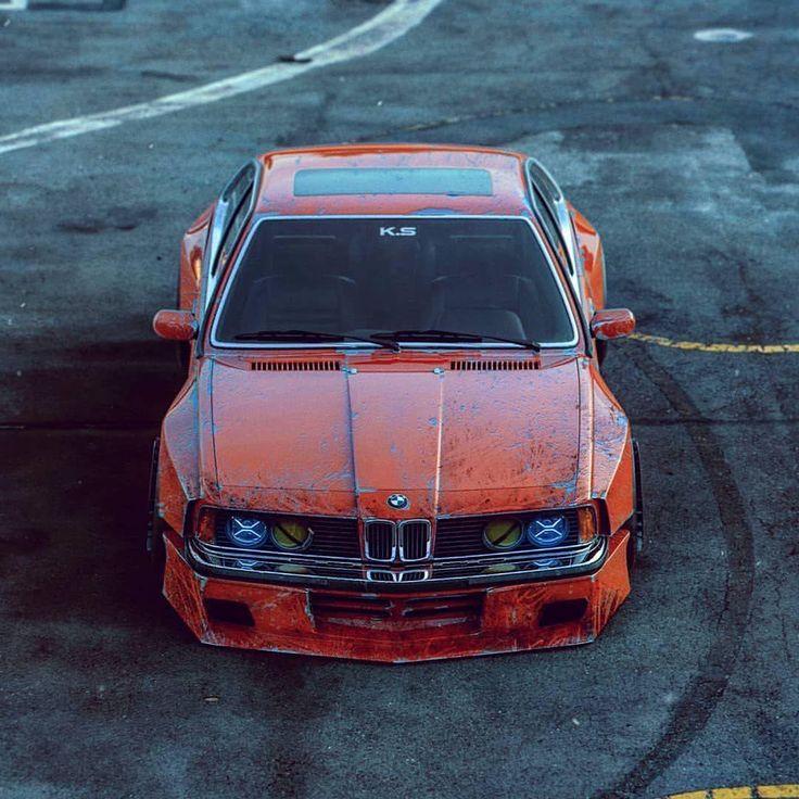 #BMW #E24