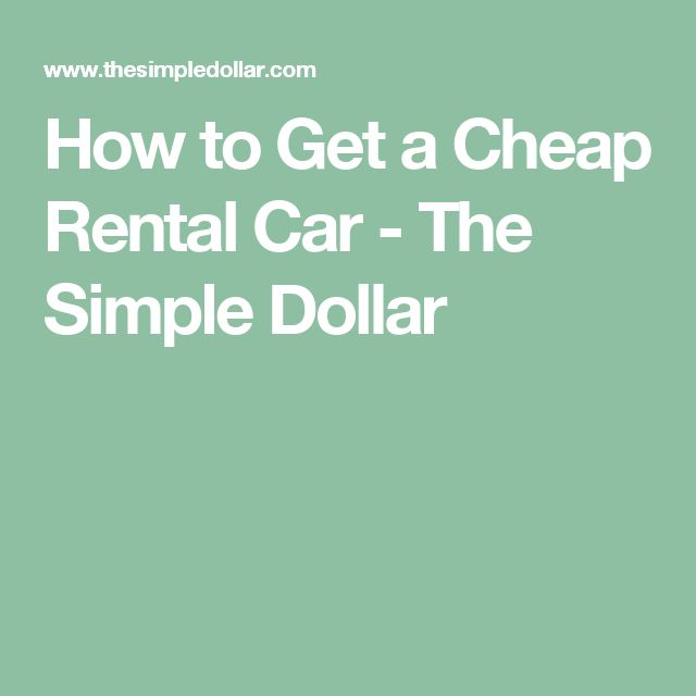 25+ unique Dollar car rental ideas on Pinterest Dollar car hire - auto rental and lease form
