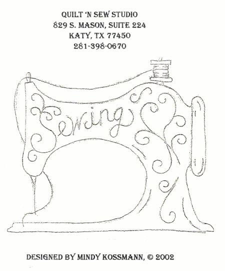sewing machine embroidery