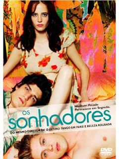 """CCL - Cinema, Café e Livros: Filme 'Os sonhadores"""" de 2003"""