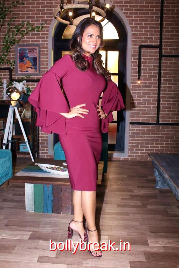 Lara Dutta Hot Pics from The Special Episode Shoot Of Miss Diva