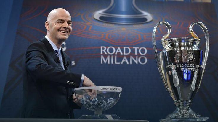 Liga Mistrzów: cztery hity w 1/8 finału, Bayern Monachium zagra z Juventusem Turyn, a Paris Saint-Germain z Chelsea Londyn