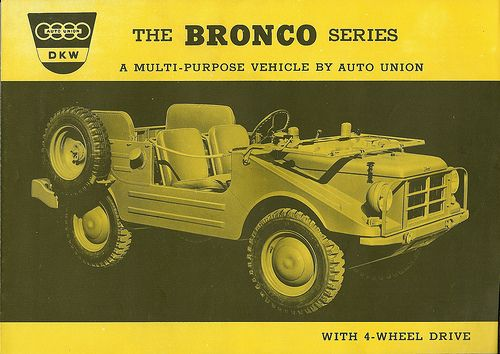 DKW Bronco in USA - page 1/4