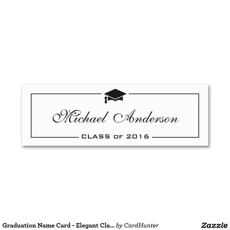 Double Sided Graduation Cards