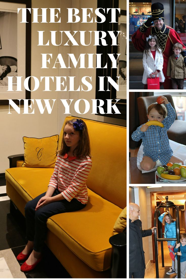 Read our unbiased photo reviews on the best New York hotels for families. We're adding more all the time for your city break with the kids.