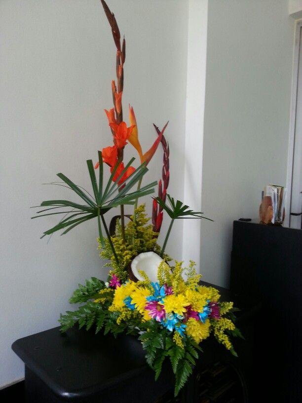 Flores tropicales