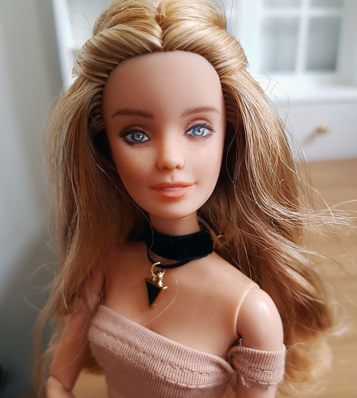 Introducing Willow – PlasticallyPerfect #OOAKBarbie #BarbieRepaint #CustomBarbie #DollModification #BarbieModification #FashionistaBarbie #Repaint #CustomDoll #OOAKDoll #PlasticallyPerfect