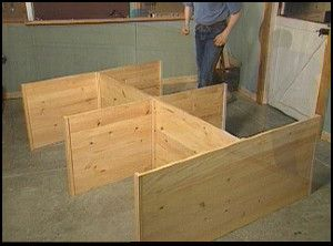 how to make a bed and storage