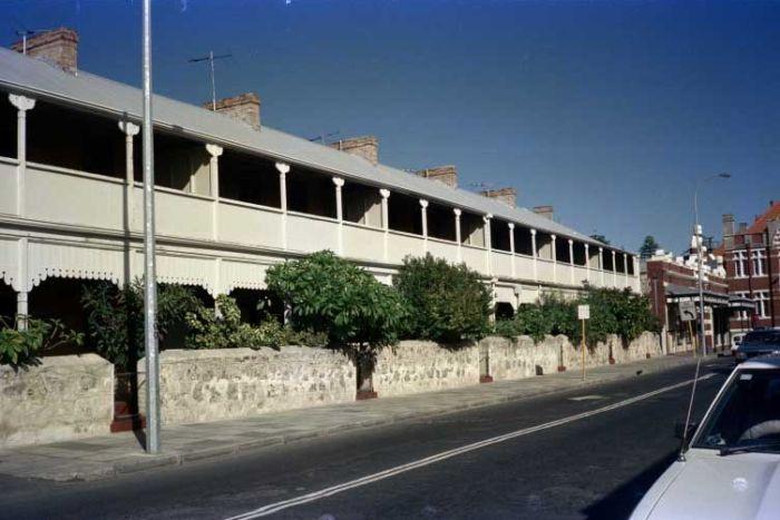 Warders' cottages, Henderson Street, Fremantle, June 1985