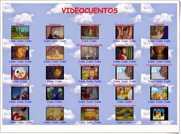 """""""Videocuentos"""" es una interesante página de cuentos en vídeo, es especial de cuentos clásicos."""