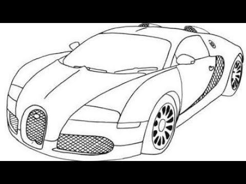 Desenhos Top Para Desenhar E Colorir Veja Diversos Desenhos Para Voce Aprender Desenhar E In 2020 Cars Coloring Pages Sports Coloring Pages Bugatti Veyron Super Sport