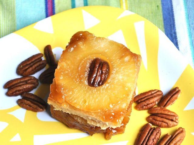 Веганский Нежданчик: Двойной ананасовый перевернутый пирог